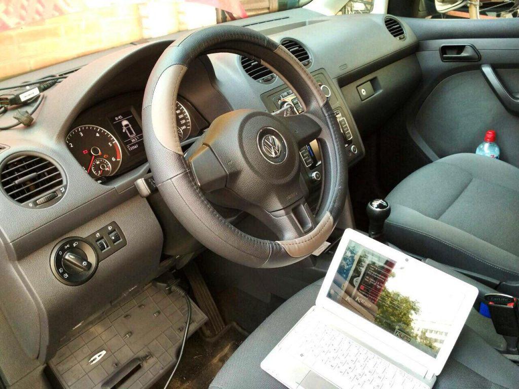 Отключить сажевый фильтр на Volkswagen Caddy 1.6 TDI