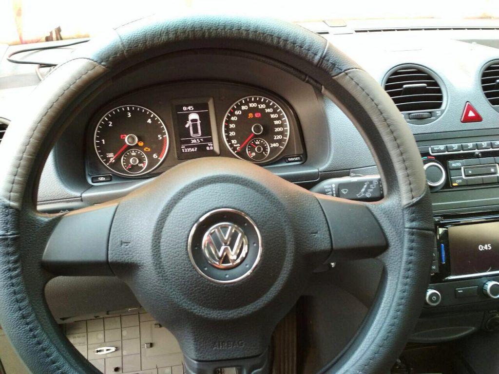 Volkswagen Caddy 1.6 TDI удаление сажевого фильтра, отключение сажевого