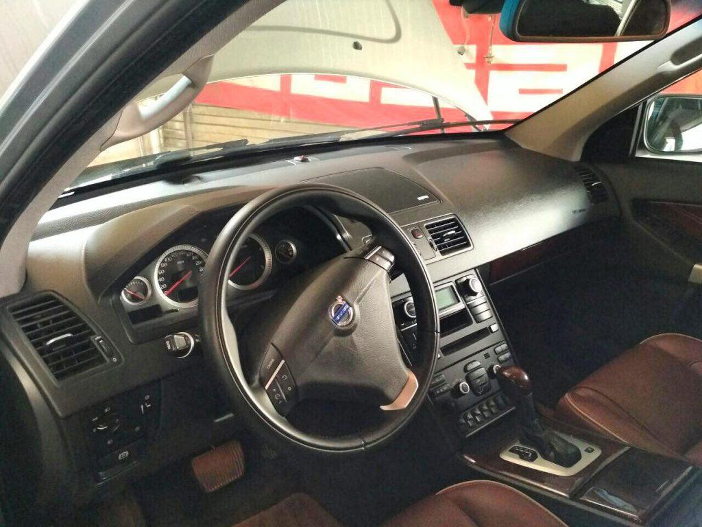 Отключение и удаление сажевого фильтра на Volvo XC90 2.4 D5 2009