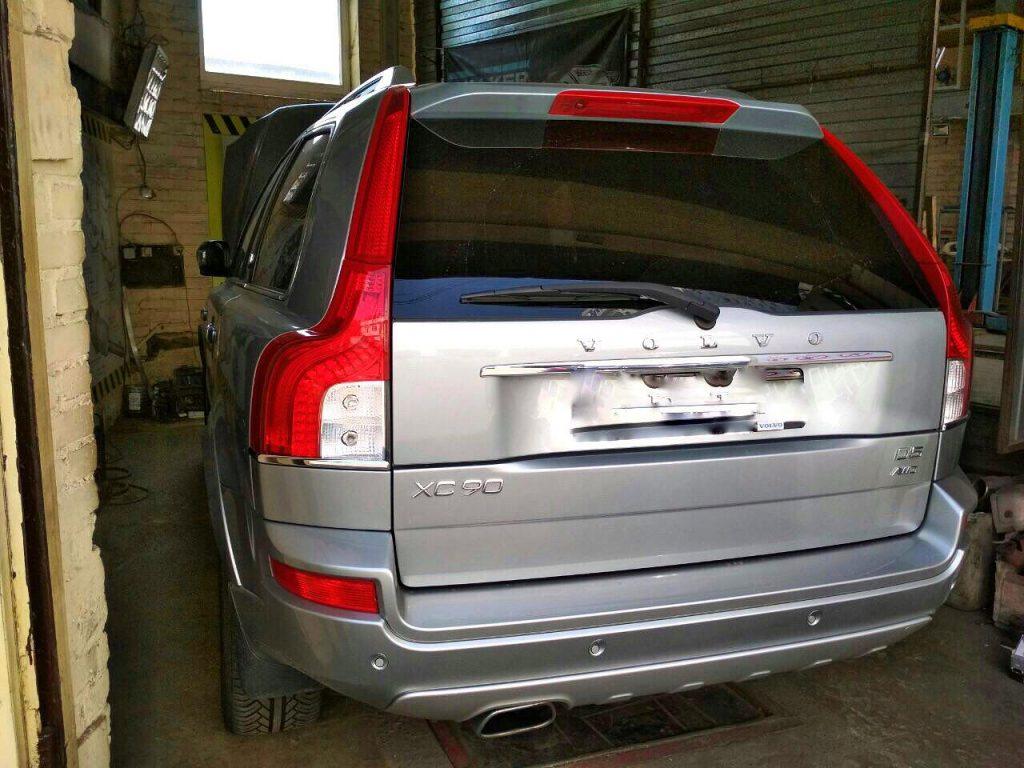 Volvo XC90 2.4 D5 2009 отключить сажевый фильтр
