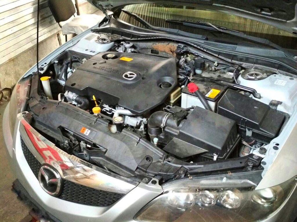 Отключить сажевый фильтр Mazda 6 2.2 CiTD 2007