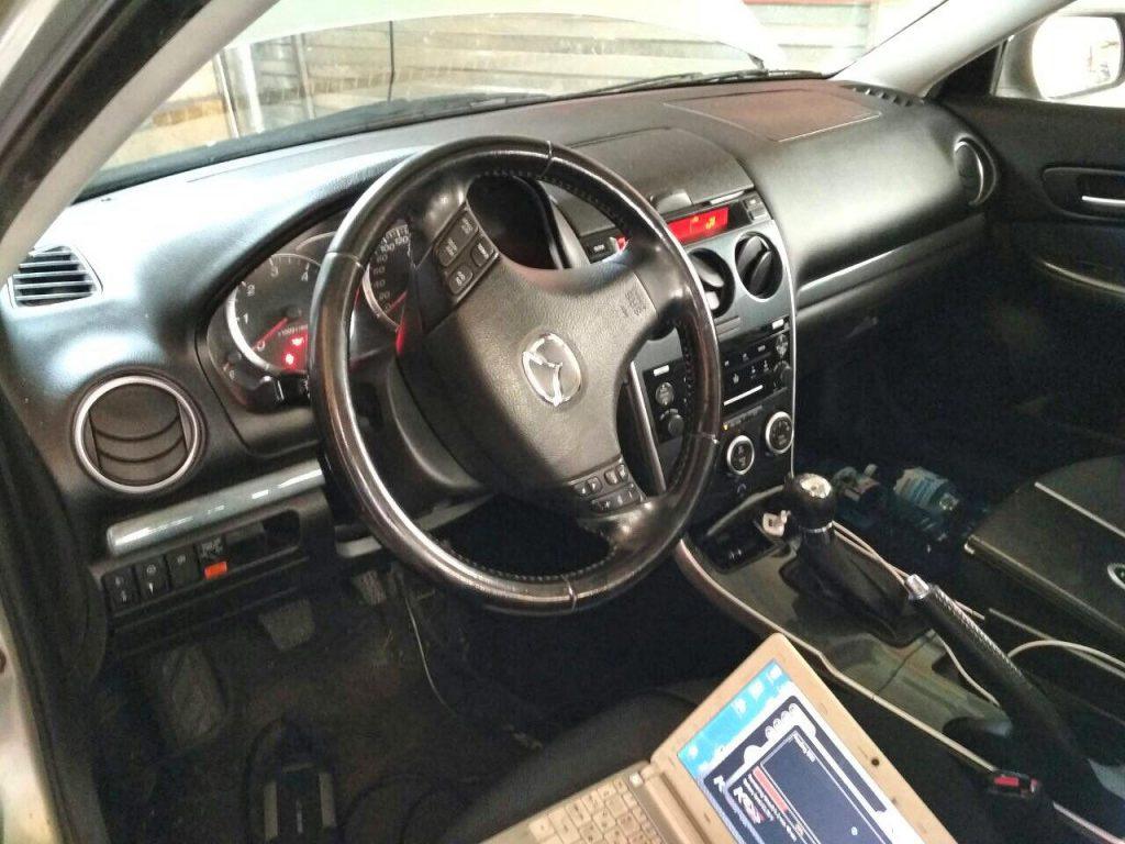 Mazda 6 2.2 CiTD 2007 отключить и удалить сажевый фильтр
