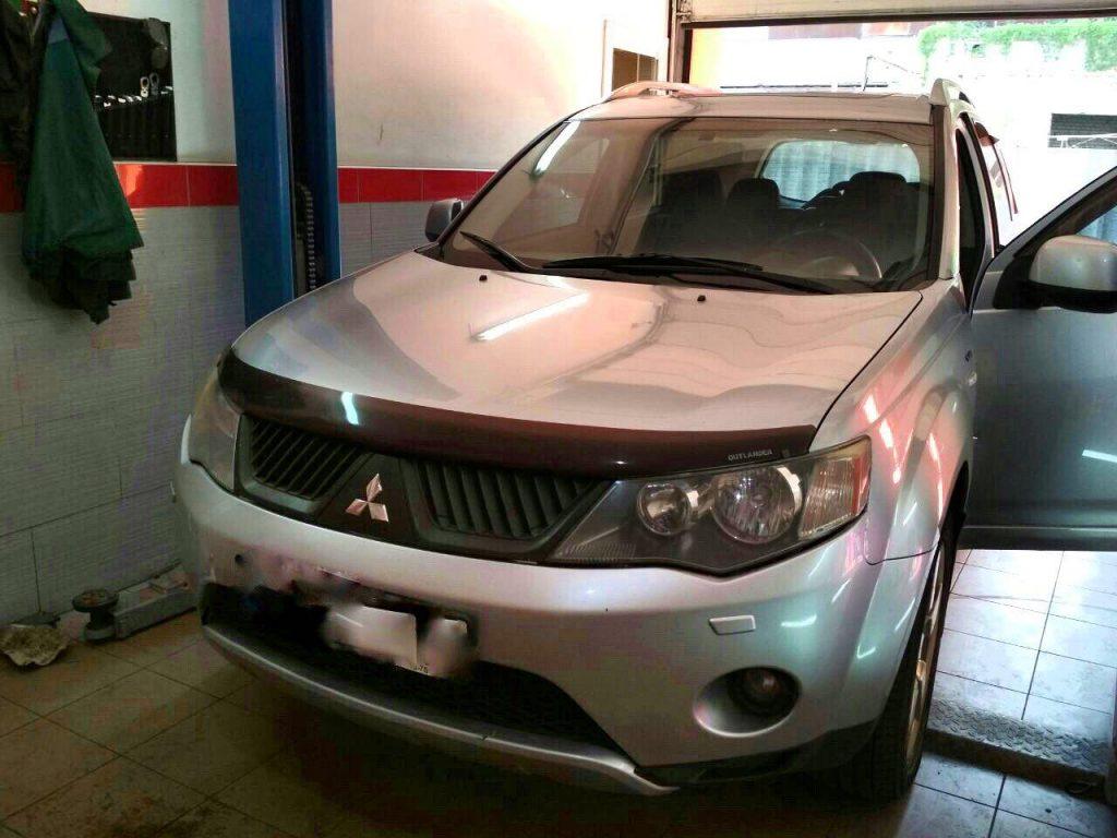 Катализаторы, отключение на Mitsubishi Outlander XL 3.0 2008