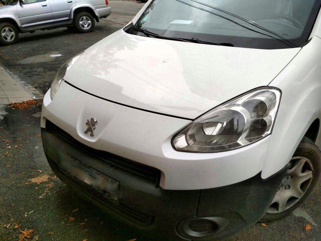 Удалить сажевый фильтр Peugeot Partner 1.6 HDI 2012