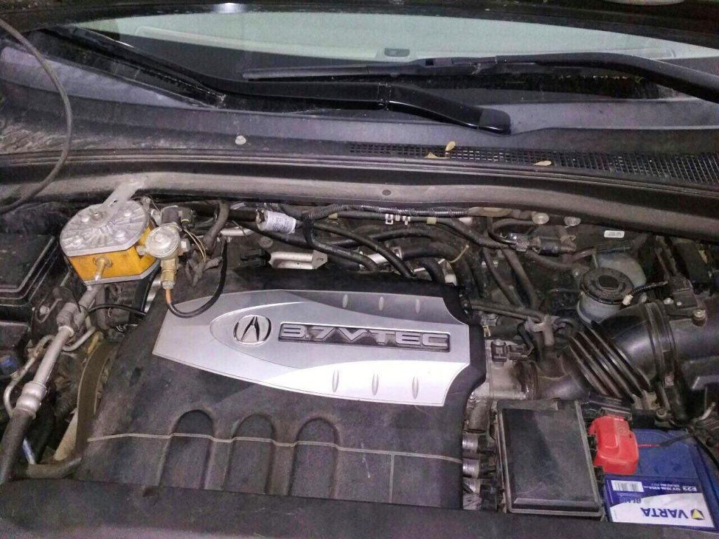 Отключение катализаторов Acura MDX 3.7 2008