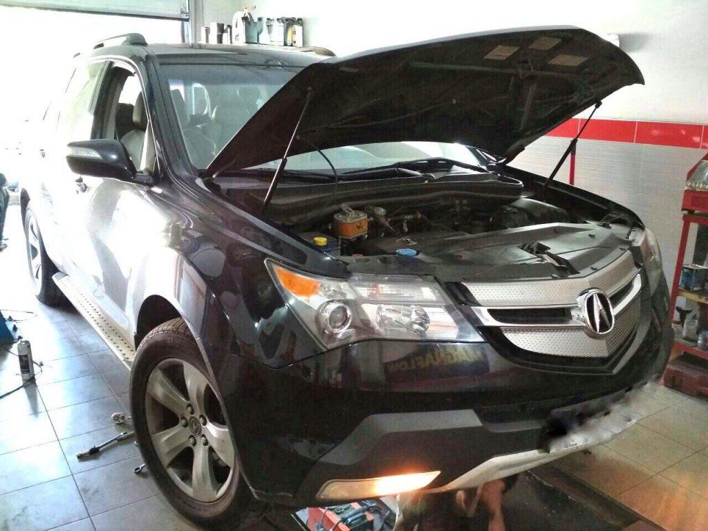 Удаление катализаторов на Acura MDX 3.7 2008