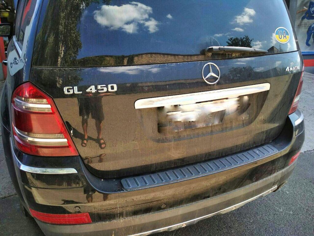 Удалить катализатор и отключить второй лямбда-зонд Mercedes GL450 2008