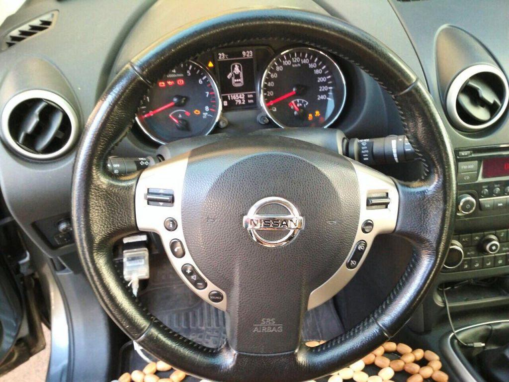 Катализатор отключение Nissan Qashqai 1.6 2009