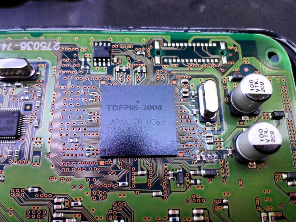 Сажевый фильтр отключить на Toyota Yaris 1.4 DiD 2011