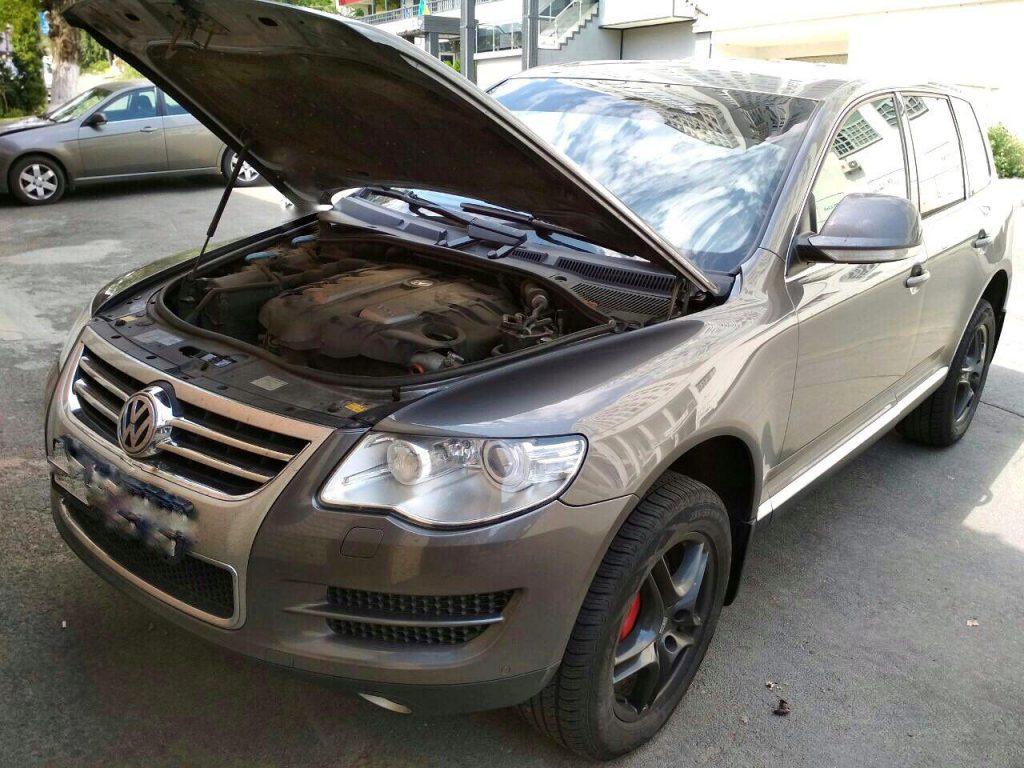 Отключить вихревые заслонки и ЕГР, удалить сажевый Volkswagen Touareg 3.0 TDI 2009