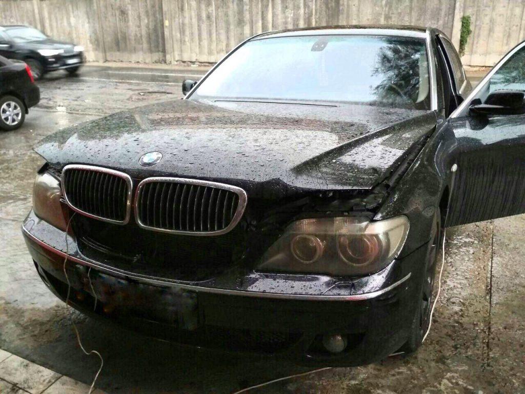 Удалить сажевый фильтр BMW 530d e60 2007