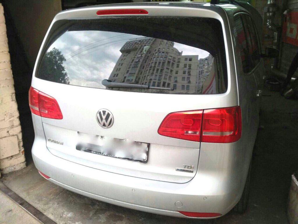 Volkswagen Touran 2.0 TDI Bluemotion 2010 отключить ЕГР и удалить сажевый фильтр