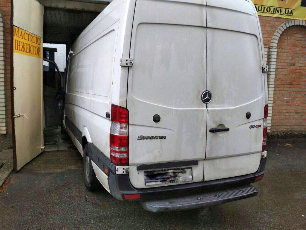Отключение сажевого фильтра Mercedes Sprinter 311 CDI 2009