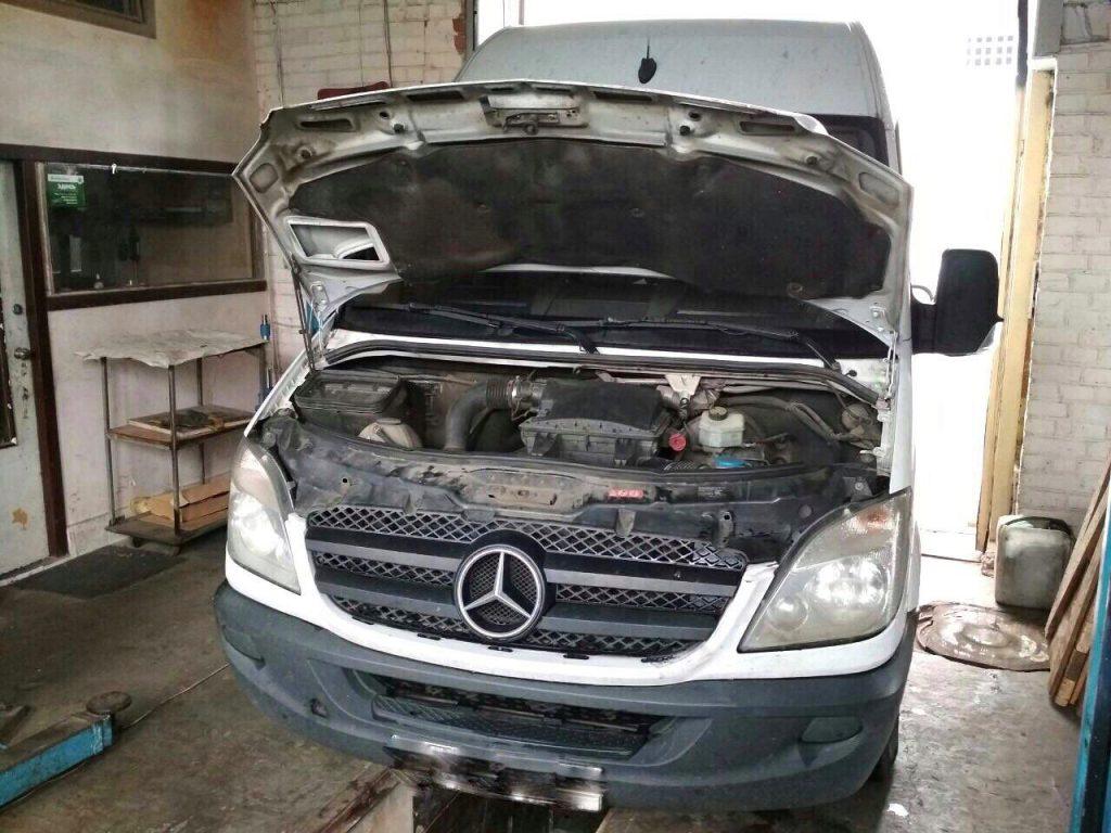 Отключить сажевый Mercedes Sprinter 311 CDI 2009