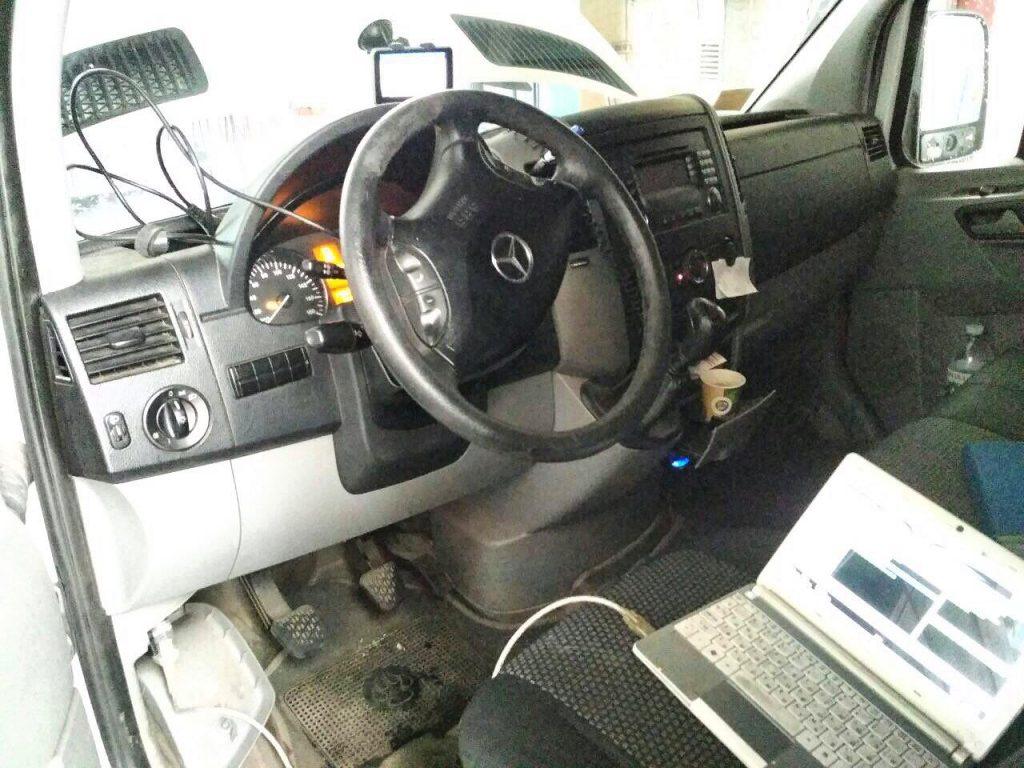 Mercedes Sprinter 311 CDI 2009 отключение фильтра сажевого