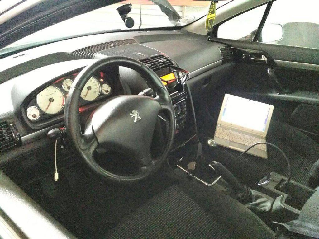 Peugeot 407 1.6 HDI 2008 удалить и отключить сажевый фильтр