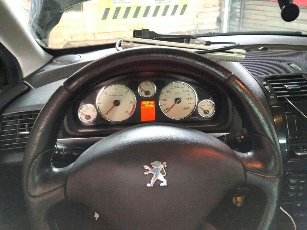 Отключение и удаление сажевого фильтра Peugeot 407 1.6 HDI 2008