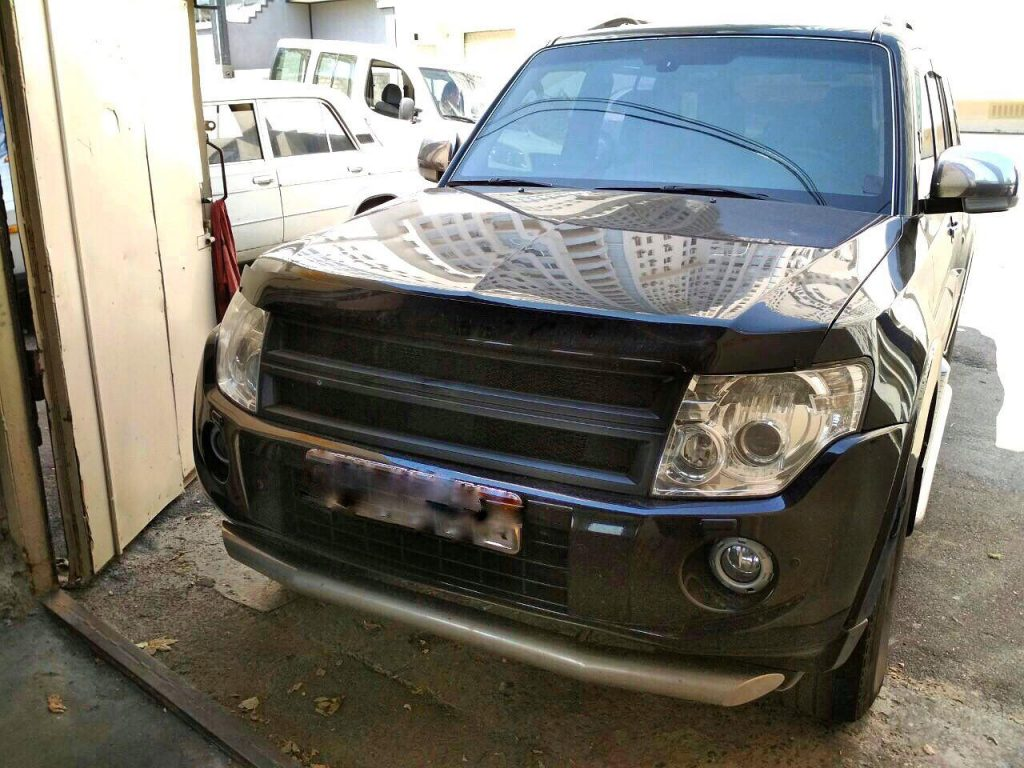 Удалить сажевый фильтр Mitsubishi Pajero 3.2 DID 2008