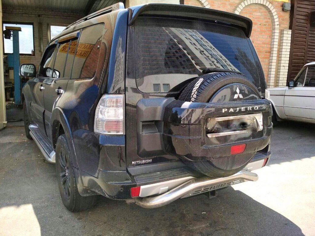 Удалить сажевый и отключить ЕГР Mitsubishi Pajero 3.2 DID 2008