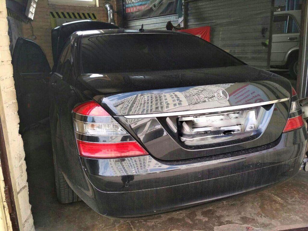 Отключение вихревых заслонок и клапана ЕГР, удаление сажевого фильтра Mercedes S320 CDI 2008