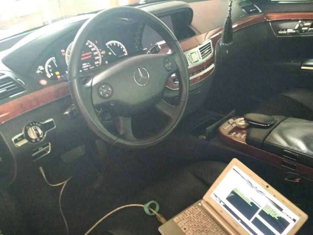 Удалить сажевый фильтр, отключить ЕГР и вихревые заслонки Mercedes S320 CDI 2008