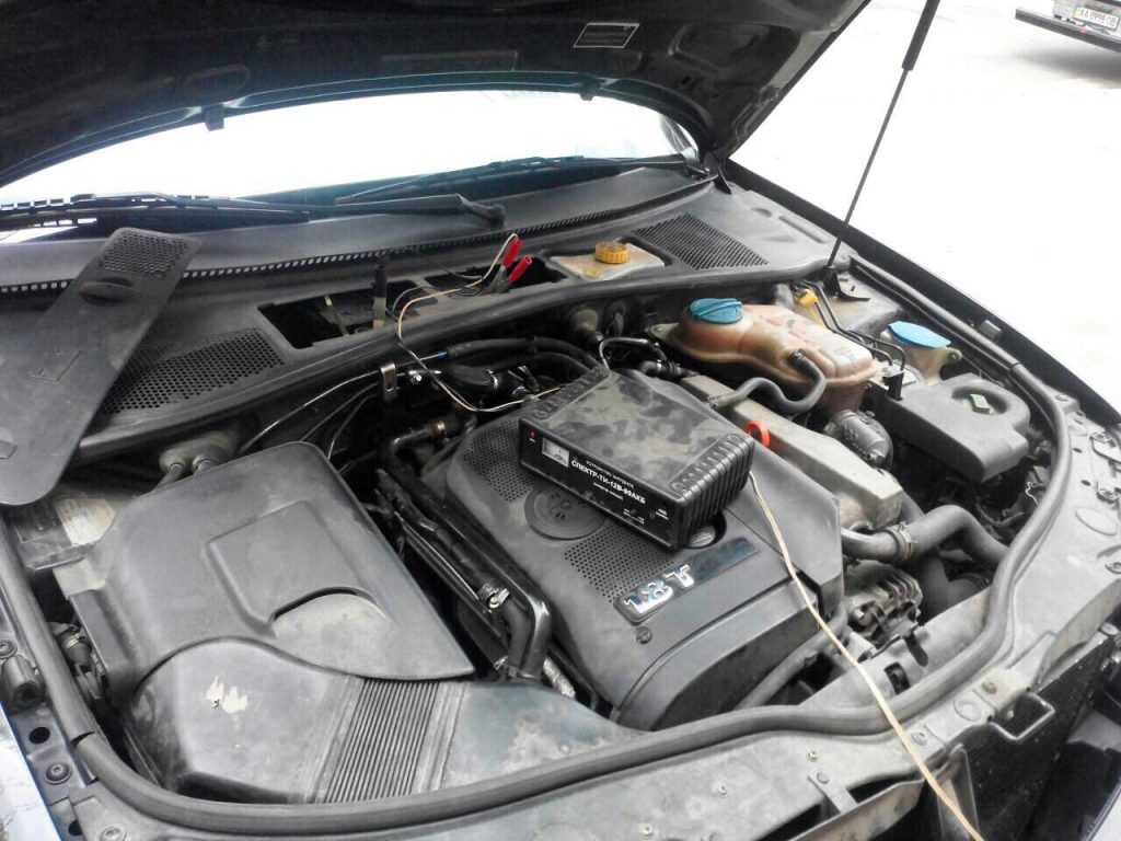 Отключить катализатор и второй лямбда-зонд Skoda Superb 1.8 Turbo 2007