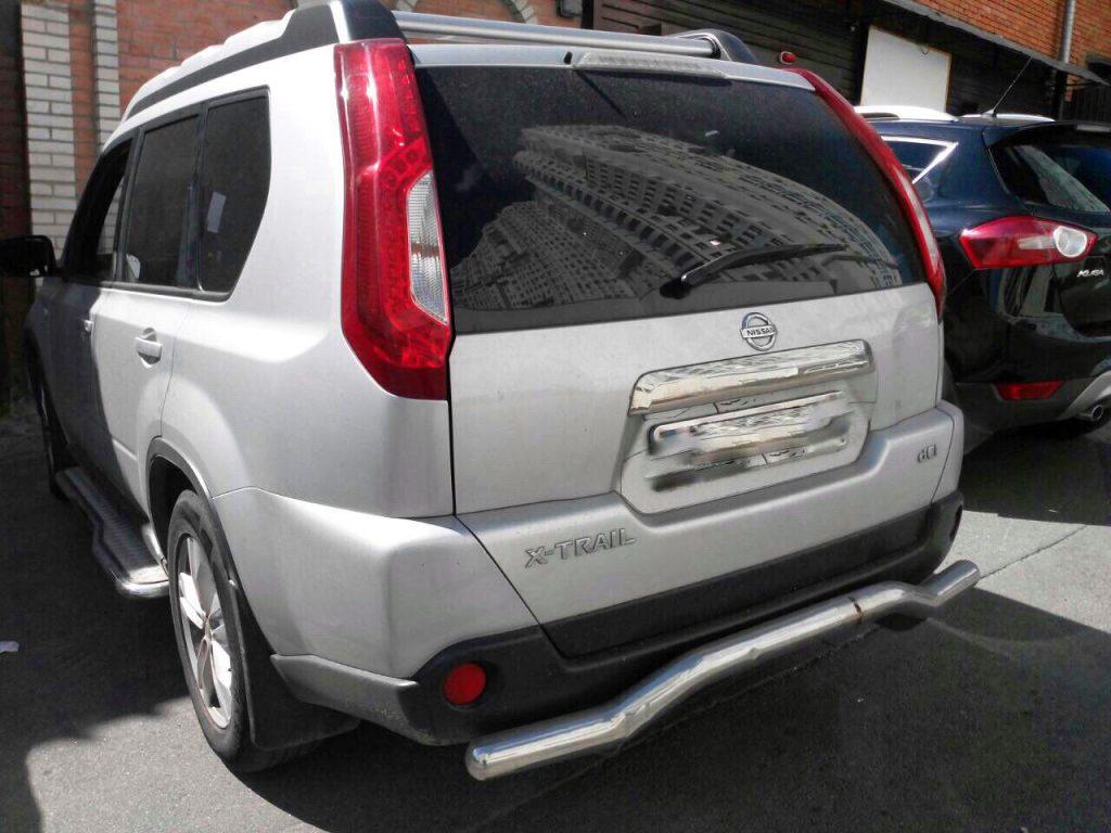 Nissan X-Trail 2.0 dCi 2012 удалить и отключить сажевый