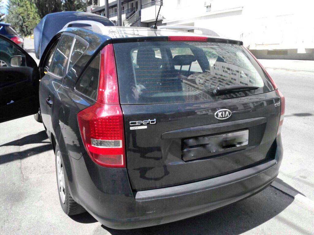 Удаление сажевого Kia Ceed 1.6 CRDI 2010
