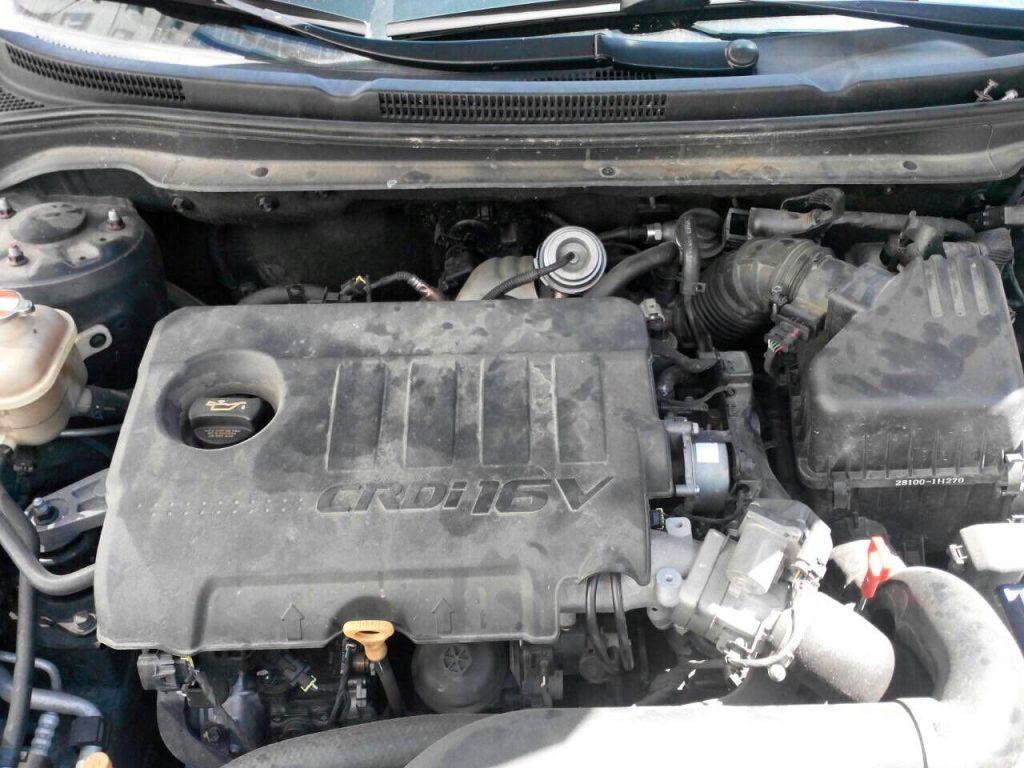 Клапан ЕГР заглушить и отключить Kia Ceed 1.6 CRDI 2010