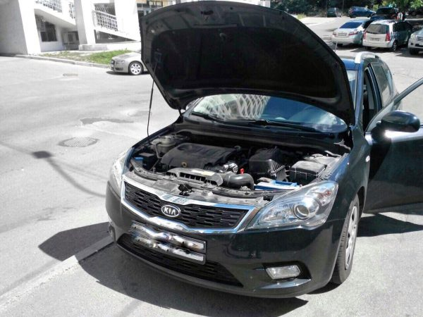 Отключение ЕГР и удаление сажевого фильтра Kia Ceed 1.6 CRDI 2010
