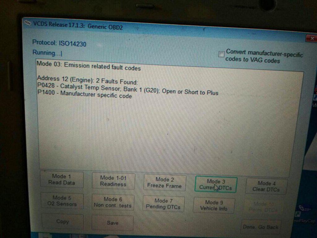 Отключение клапана ЕГР и удаление сажевого фильтра Kia Ceed 1.6 CRDI 2010