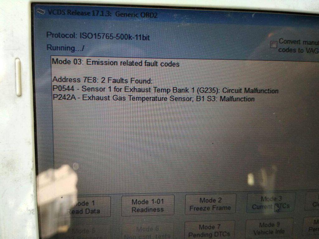 Отключить сажевый фильтр на Renault Master 2.3 dCi 2012