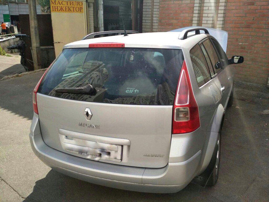 Удаление сажевого фильтра Renault Megane 1.5 dCi 2006