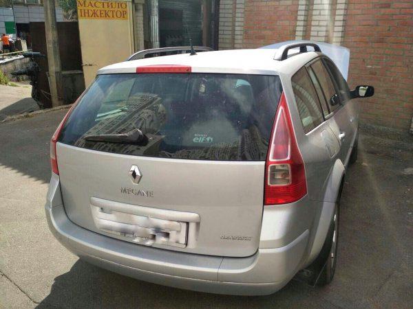 Сажевый фильтр удаление и отключение Renault Megane 1.5 dCi 2006