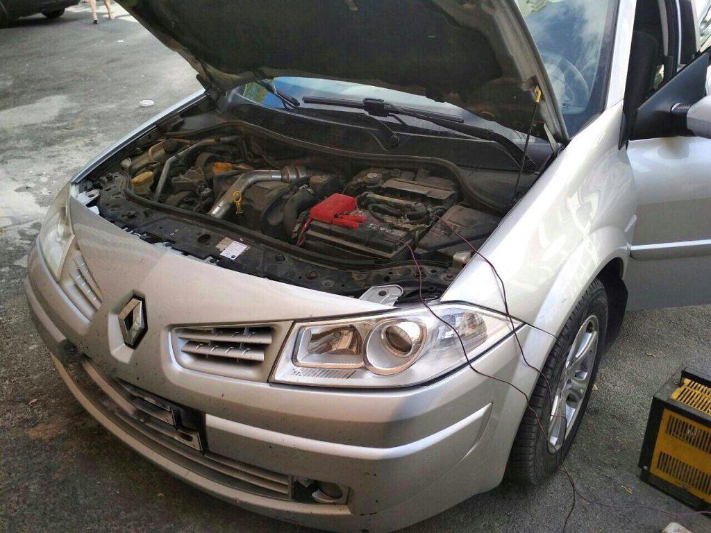 Отключить сажевый фильтр Renault Megane 1.5 dCi 2006