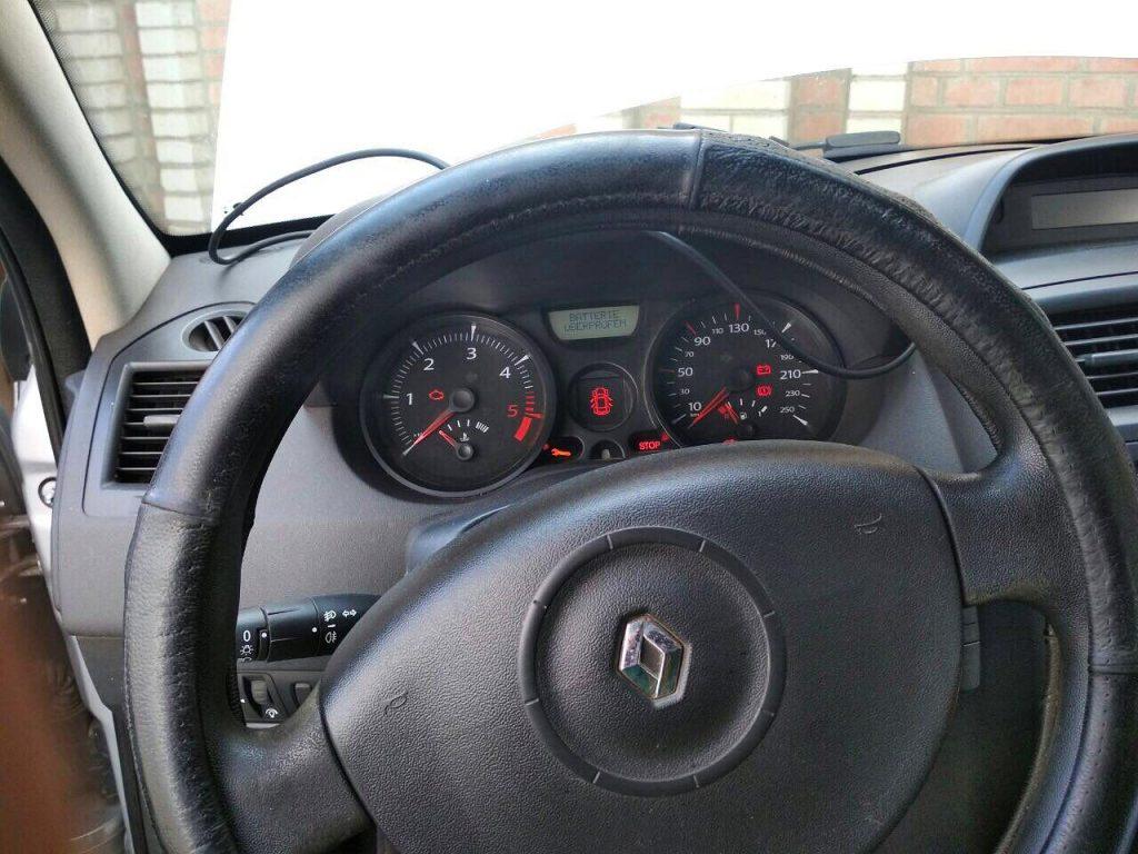 Сажевый фильтр, удаление Renault Megane 1.5 dCi 2006