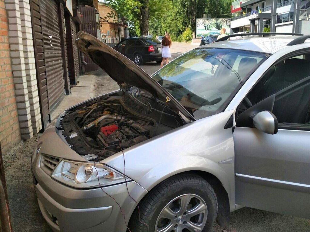 Удаление и отключение сажевого фильтра Renault Megane 1.5 dCi 2006