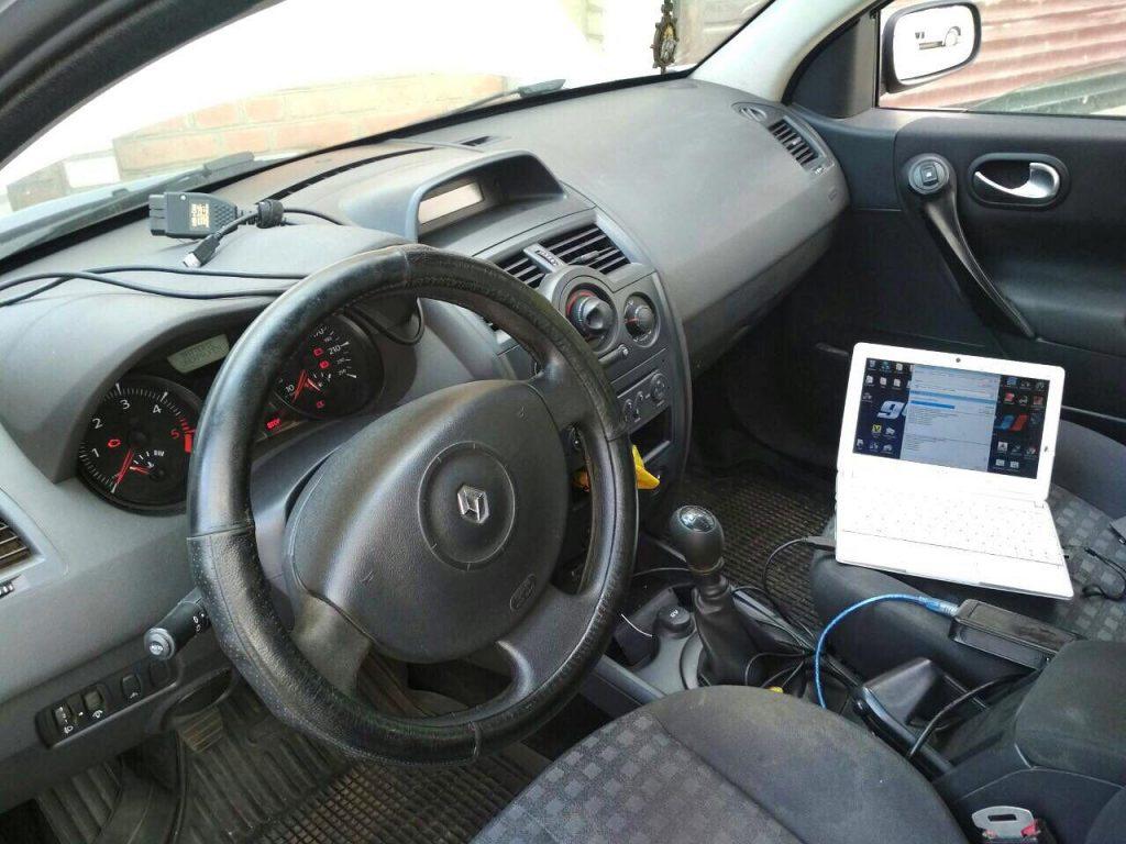 Отключить сажевый фильтр на Renault Megane 1.5 dCi 2006