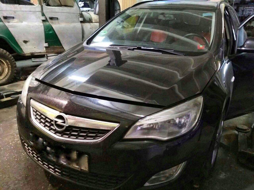 Отключение клапана ЕГР на Opel Astra J 1.3 CDTi EcoFlex 2013