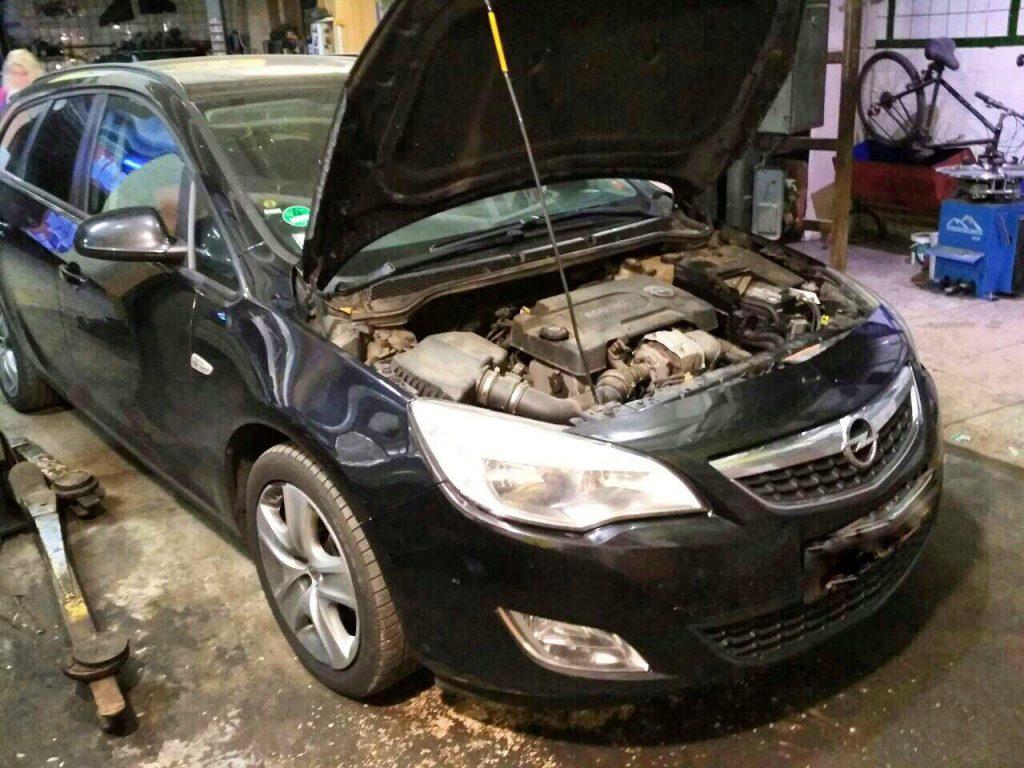 Отклюяить клапан ЕГР Opel Astra J 1.3 CDTi EcoFlex 2013