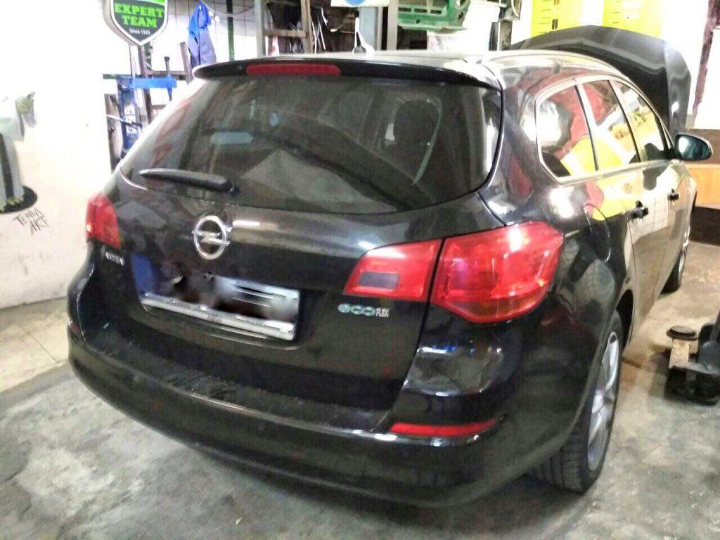 Удаление сажевого фильтра Opel Astra J 1.3 CDTi EcoFlex 2013