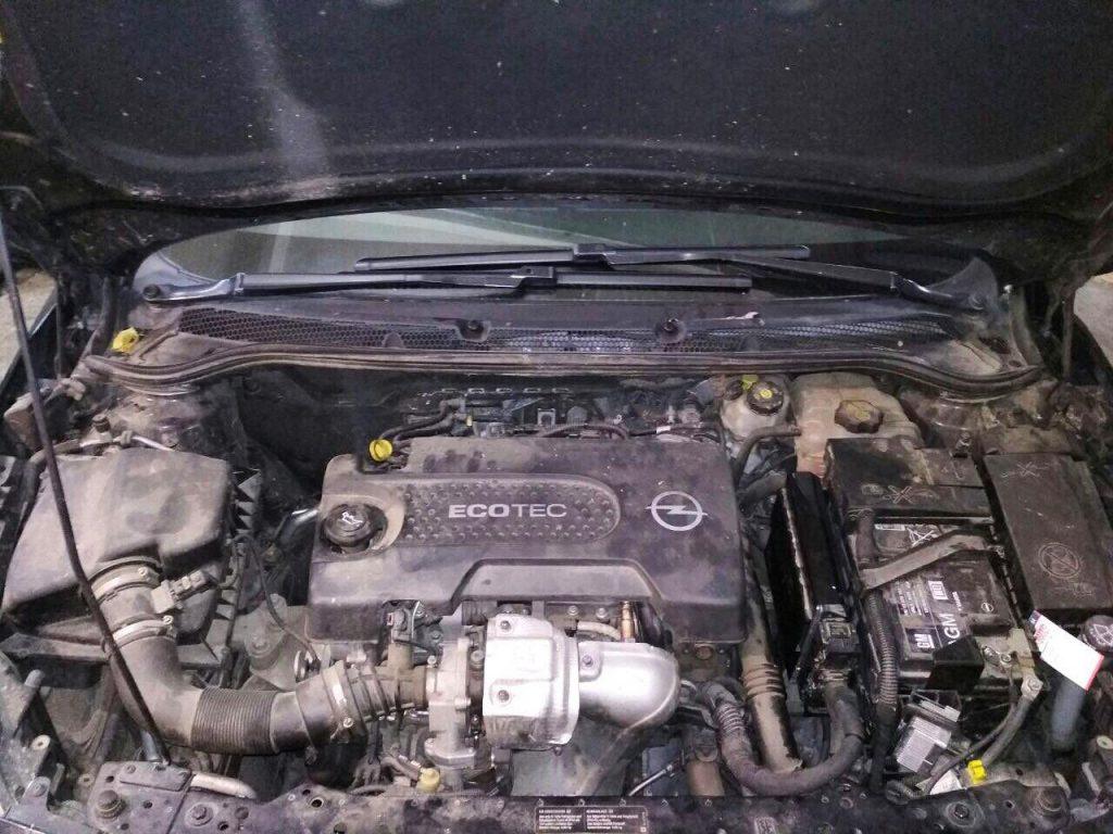 Opel Astra J 1.3 CDTi EcoFlex 2013 отключить клапан ЕГР и удалить сажевый