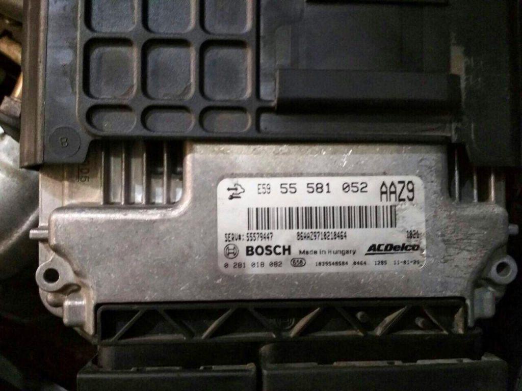 Удалить сажевый фильтр Opel Astra J 1.3 CDTi EcoFlex 2013