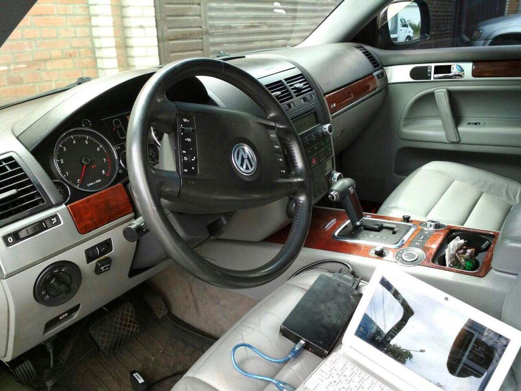 Отключение катализаторов Volkswagen Touareg 3.2 2002