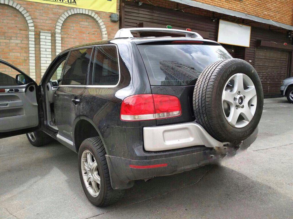 Volkswagen Touareg 3.2 2002 отключить катализаторы и 2-ой лямбда-зонд