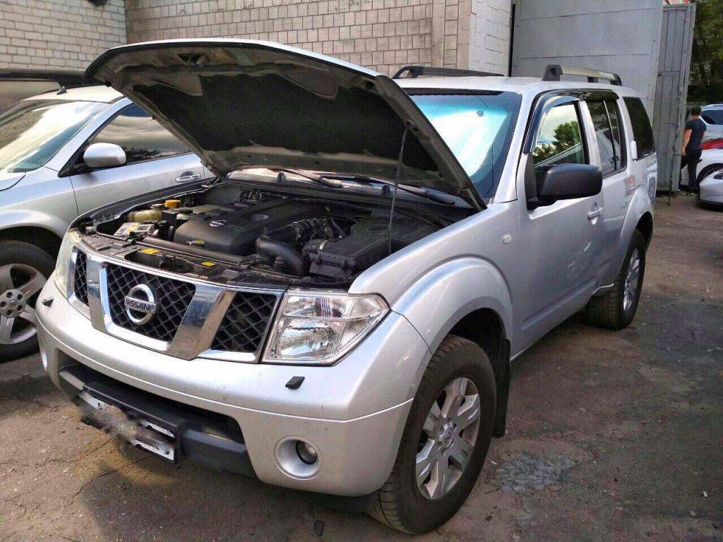 Отключить клапан ЕГР и удалить сажевый фильтр Nissan Pathfinder 2.5 dCi 2007