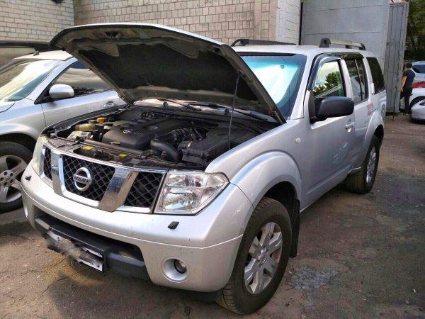 Отключение EGR и удаление сажевого фильтра Nissan Pathfinder 2.5 dCi 2007