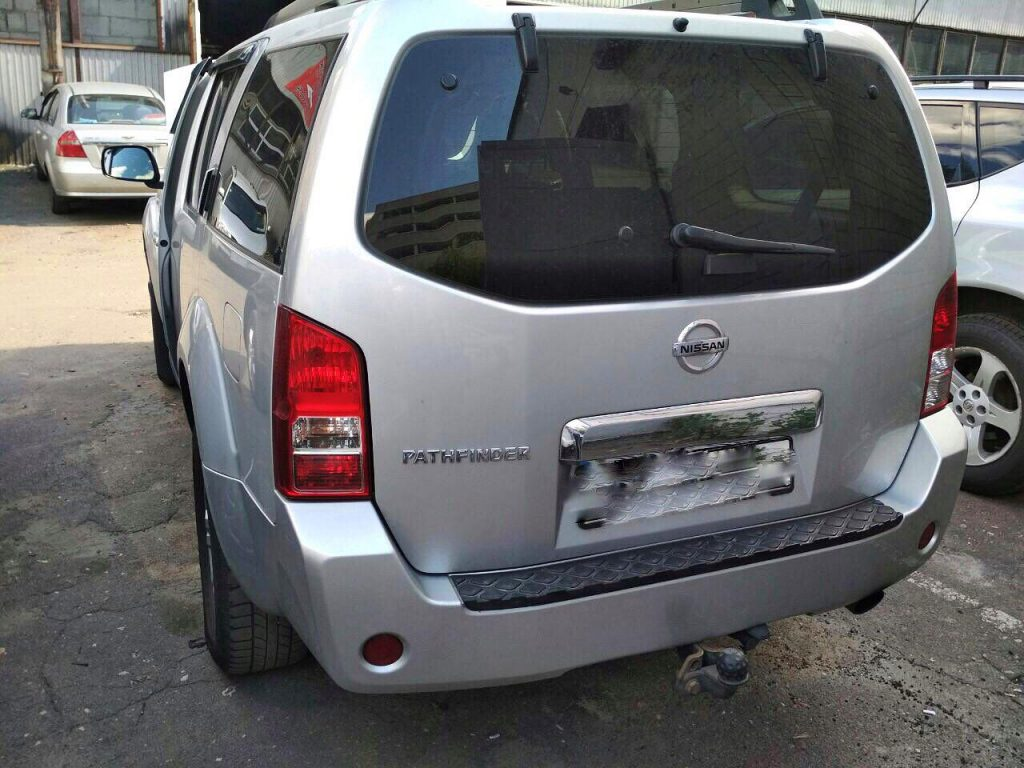 Удалить сажевый фильтр Nissan Pathfinder 2.5 dCi 2007