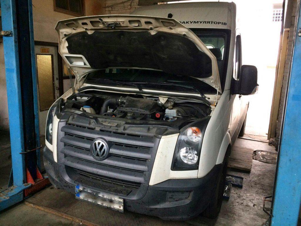 Отключить сажевый фильтр Volkswagen Crafter 2.5 TDI 2011