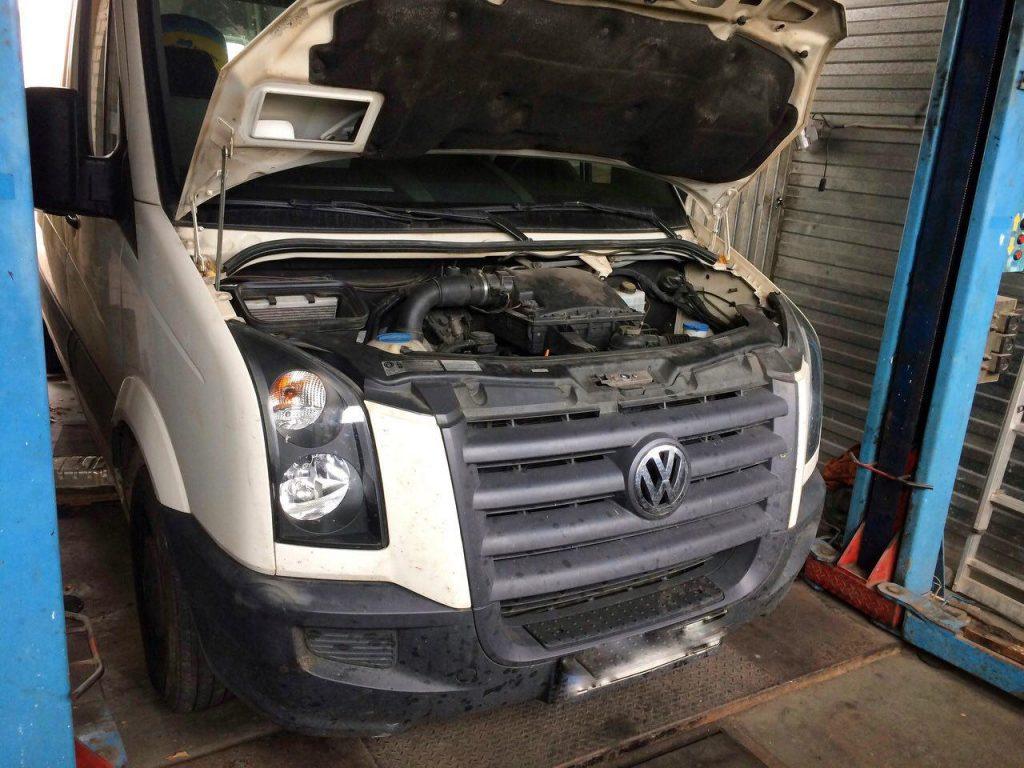 Отключение сажи на Volkswagen Crafter 2.5 TDI 2011